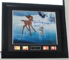 "A126DDB DONNIE DUNAGAN - ""BAMBI"" SIGNED"